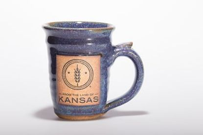 From the Land of Kansas handcrafted mug