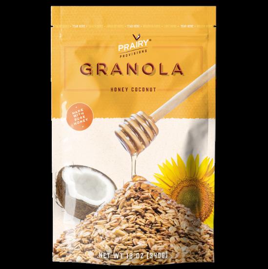 Honey Coconut Granola