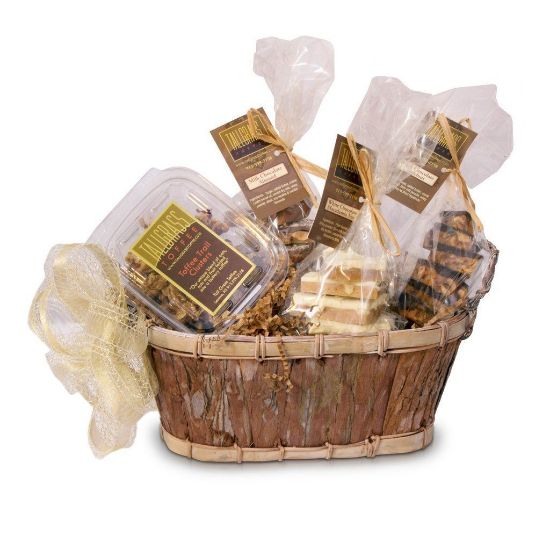 HE CONNOISSEUR - GIFT BASKET - TALL GRASS TOFFEE
