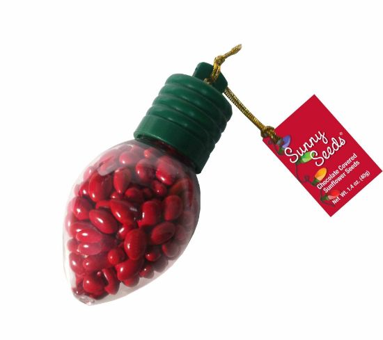 Holiday Lights Chocolate Covered Sunflower Seeds