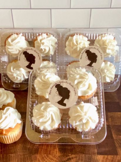 Picture of Queen Marie Gluten Free Citrus Cupcake Box