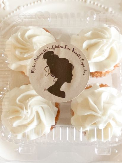 Picture of Queen Marie Gluten Free Vanilla Cupcake Box
