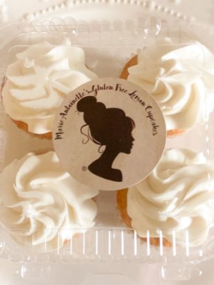 Picture of Queen Marie Gluten Free Lemon Cupcake Box