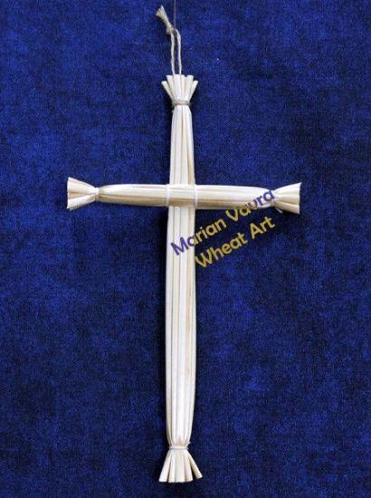 Tied Kansas Straw Cross