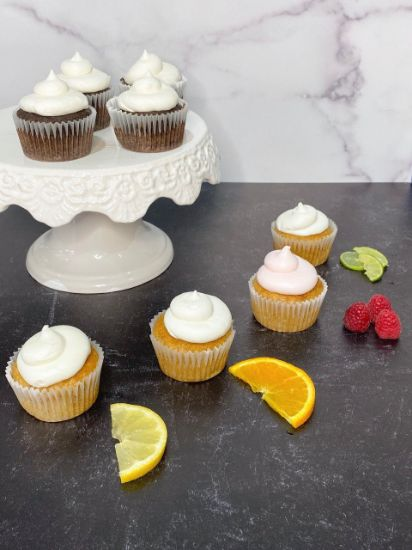 Picture of Queen Marie Gluten Free Vegan Cupcake Box