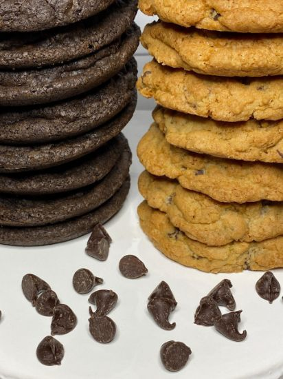Picture of Queen Marie Gluten Free Chocolate Chip Cookie Box