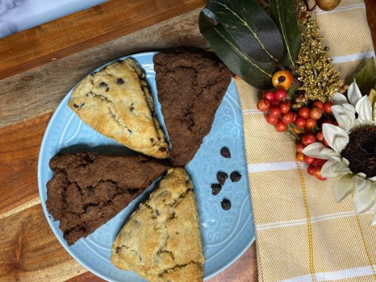 Picture of Queen Marie Gluten Free Chocolate Scone Box