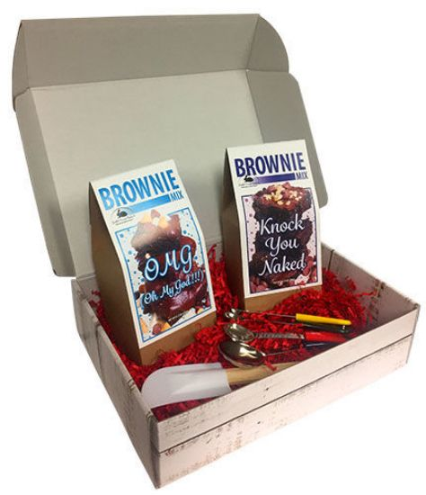 Rabbit Creek Gourmet Baker's Brownie Gift Box
