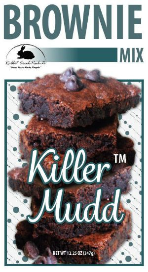 Killer Mudd Brownie Label
